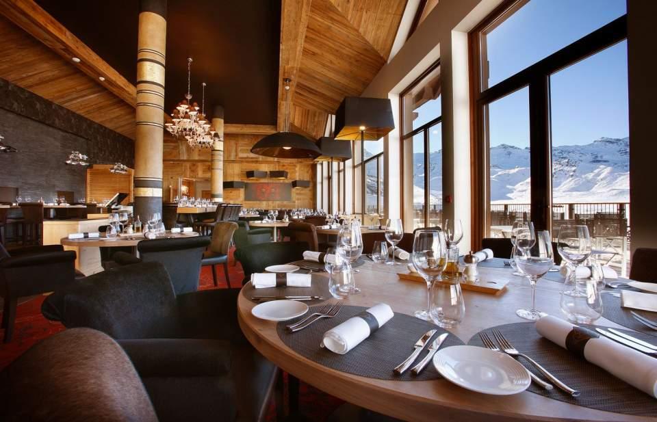 RestaurantChalet de luxe Val Thorens